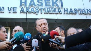 Cumhurbaşkanı Erdoğan: Terörle mücadele sonuna kadar sürecek