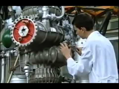 V Rocket Engine Design