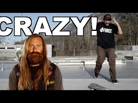 Chris Haslams Crazy Flatground Trick!