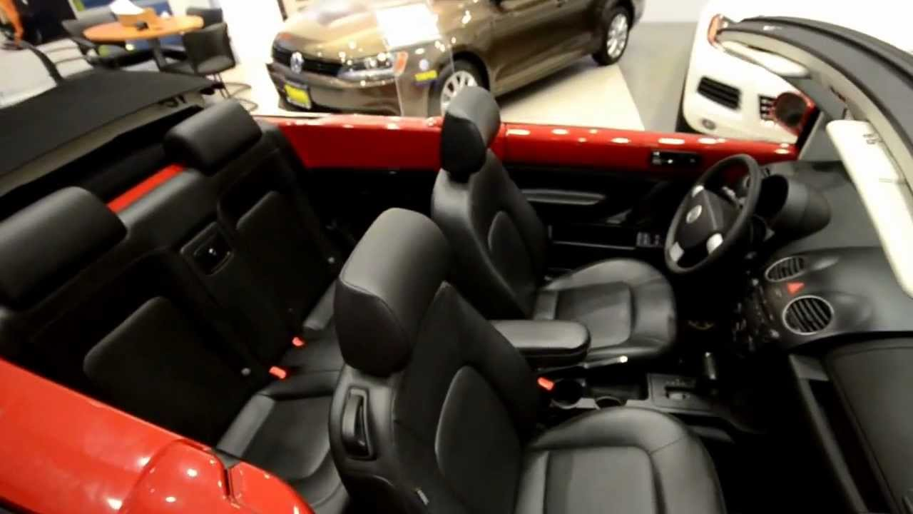 2007 Volkswagen New Beetle Convertible Stk 3251b For