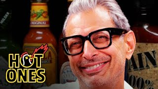 Jeff Goldblum Says He Likes To Be Called Daddy While Eating Spicy Wings Hot Ones