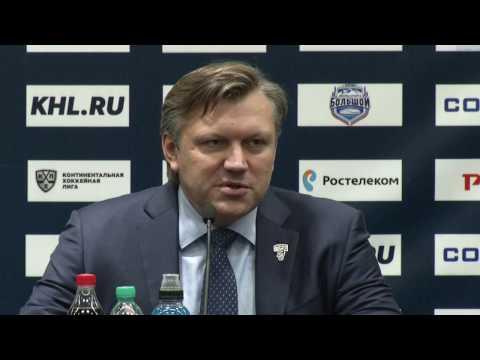 Сочи – Салават Юлаев. Пресс-конференция тренеров