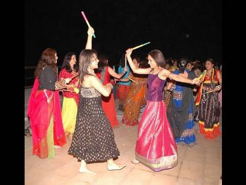 Dandiya Dance - Traditional Folk Dance - Dandiya Dance History video