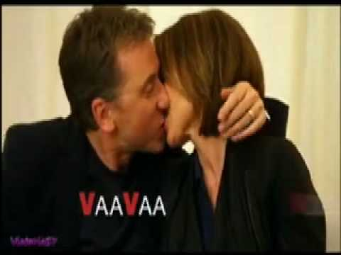 Cal And Gillian From Lie To Me* Kiss! In Slow Motion video