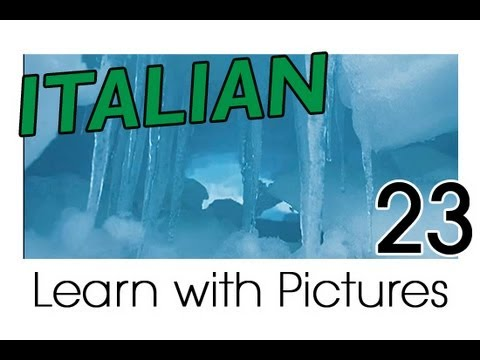 Learn Italian - Italian Winter Vocabulary