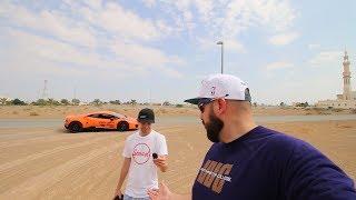 First time driving a Lamborghini Huracan...FAIL!