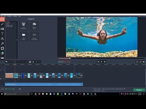 Movavi Video Editor Review & Tutorial - Movavi Video Editor Step By Step Demo