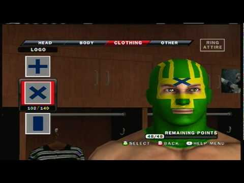 Smackdown Vs Raw 2010 Caw how to make Kick Ass part 3/5