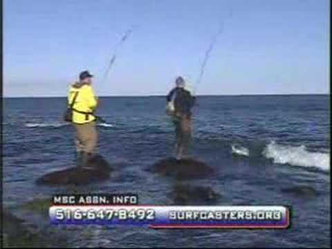Surf fishing striped bass in montauk ny part 2 youtube for Long island surf fishing report
