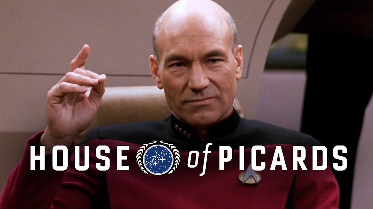 "House Of Cards Meets Star Trek For ""House Of Picards"""