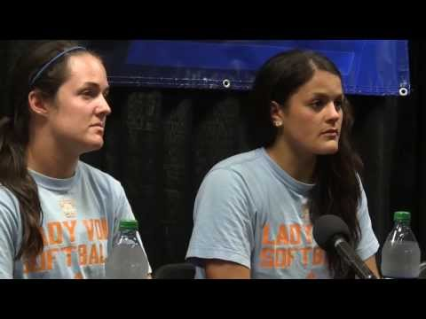 Knoxville Super Regional: UT Post Practice - Raven Chavanne & E. Renfroe (5/23)