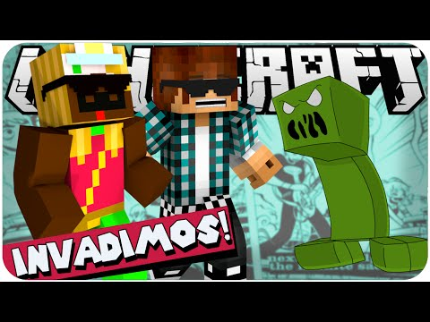 MINECRAFT: Os Trolladores #02 INVADIMOS UM CREEPER! (c/ Authentic)