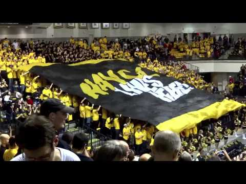 VCU's First A-10  Basketball Game, vs Dayton 1-9-2013