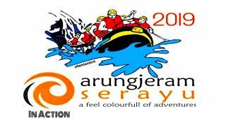 Arung Jeram Serayu Adventure 2019 In Action