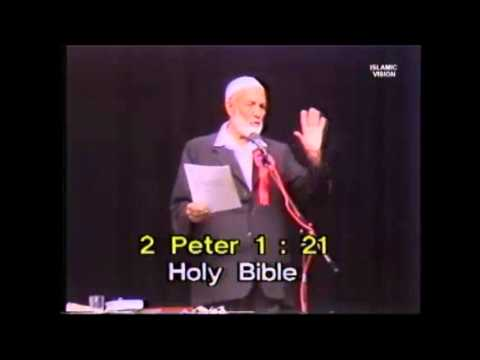 Funny Commands In The Bible By Ahmed Deedat. video