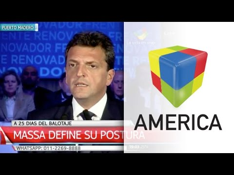Sergio Massa: La Argentina necesita un cambio
