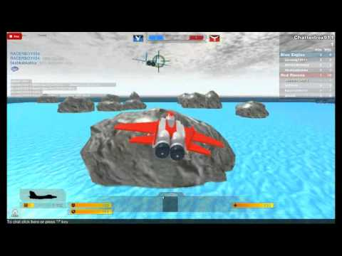 Jets Wars ROBLOX!!!!(jet chase included!)