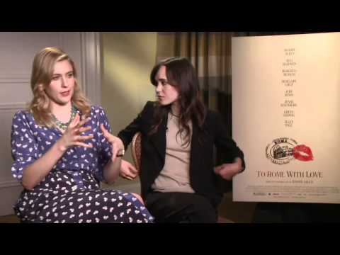 To Rome With Love - Interview with Greta Gerwig and Ellen Page