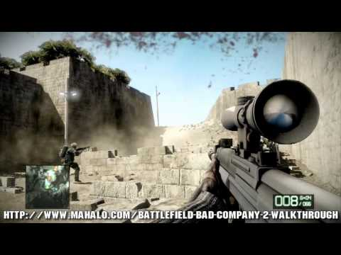 Battlefield: Bad Company 2 Walkthrough - Chapter 8: Sangre Del Toro Part 1 HD