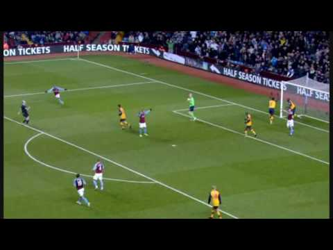 Bacary Sagna Incredible Save | Arsnl - Aston V. [26.12.08] [HD]