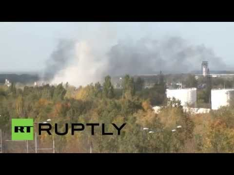 Ukraine: DNR forces battle for control of Donetsk airport