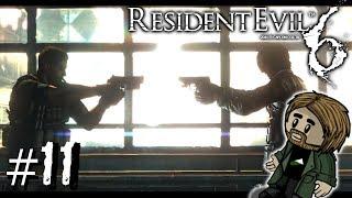 Resident Evil 6 w/ TheTeshTube | 11 | Chris + Leon = Gunfight?
