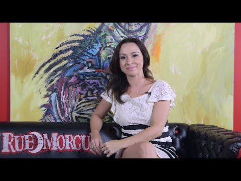 DANIELLE HARRIS answers fan questions on the RUE MORGUE PODCAST (Pt. 2)
