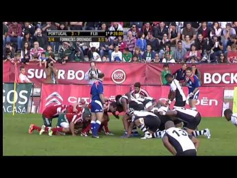 Rugby Test Match : Portugal VS Fiji