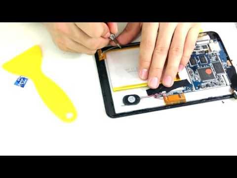 Como cambiar el touch de una tablet Protab Disney. Frozen. Marvel y Disney Princesas