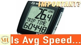 cycling average speed | How important is it ?