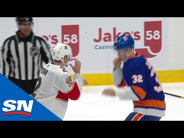 NHL Fights Of The Week Battle On Long Island!