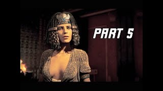 ASSASSIN'S CREED ORIGINS Walkthrough Part 5 - Cleopatra (PC Ultra Let's Play Commentary)