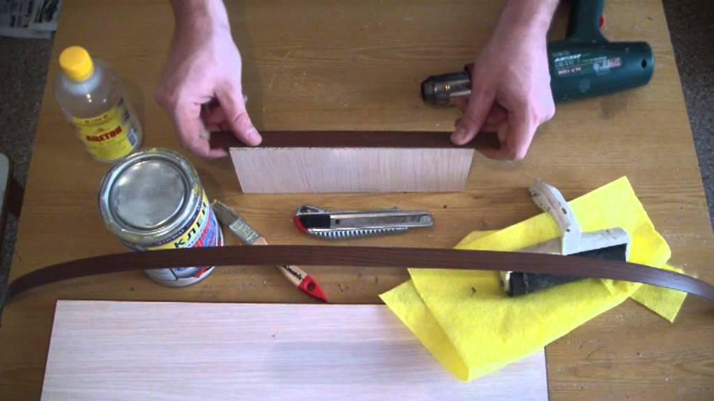 Как наклеить пвх кромку 04 своими руками 80