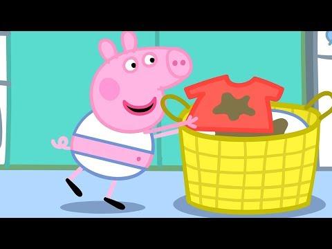 Свинка Пеппа на русском все серии подряд | Мытье с Пеппой! | Мультики