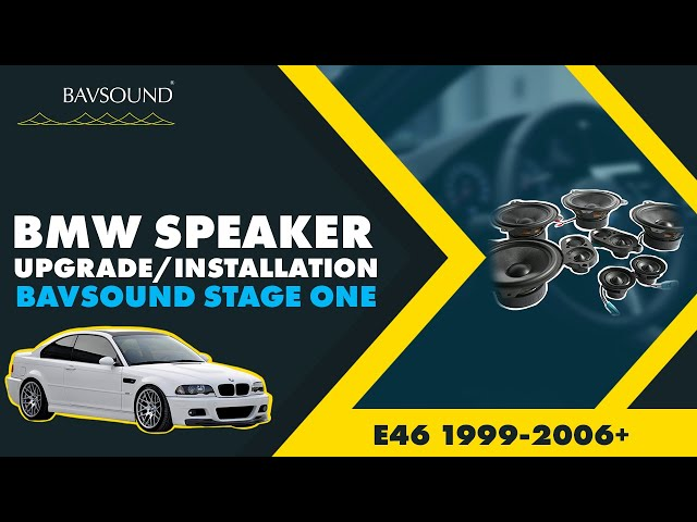 BAVSOUND - BMW 3 Series Coupe / Cabrio - Speaker Upgrade 2 ...