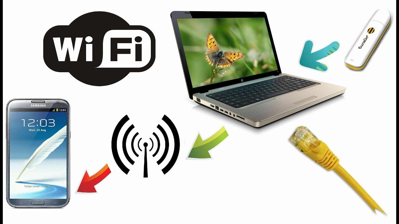 Как сделать чтобы пк раздавал wi-fi
