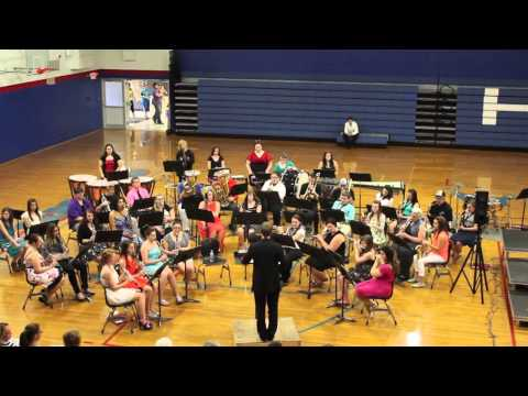 "Hoopeston Area High School Band performs ""Star Wars"" medley"