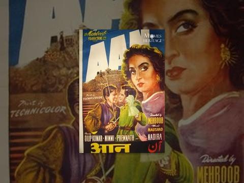 Aan (1952) Full Movie | Dilip Kumar, Nimmi | Old Bollywood Film video