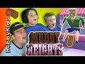 Muddy Heights POO Video Game! HobbyPig Gets Pooped On EWWW Ga...