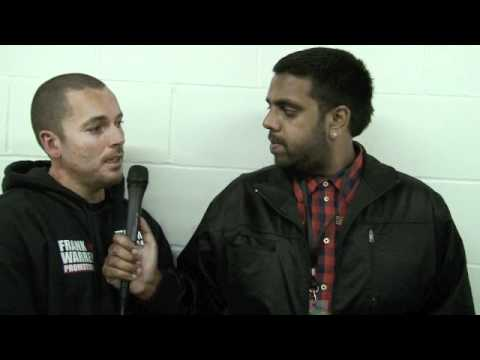 EXCLUSIVE! Post-Fight Interview with Craig Evans & Lee Beard / EVANS v MOISES / for iFILM LONDON.