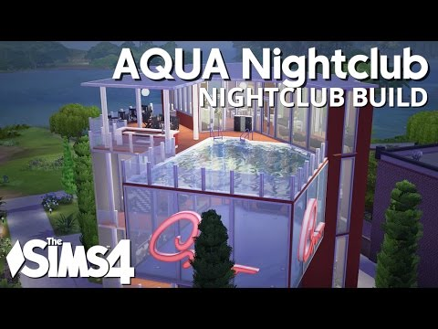 The Sims 4 Building - AQUA Nightclub
