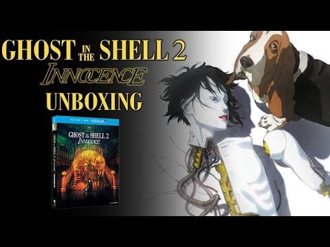 Ghost In The Shell 2: Innocence Blu-ray Unboxing