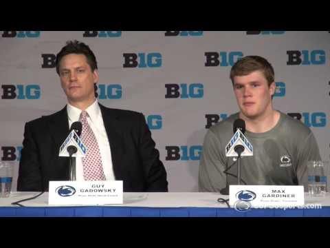 Men's Hockey Big Ten Tournament Post-Game vs. Ohio State (3/19/15)