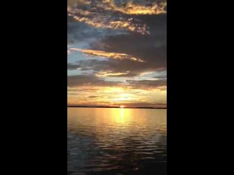 Sunrise in Pine island sound