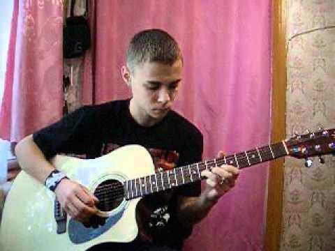 Vladocheg - Владимирский централ (соло) (акустика)