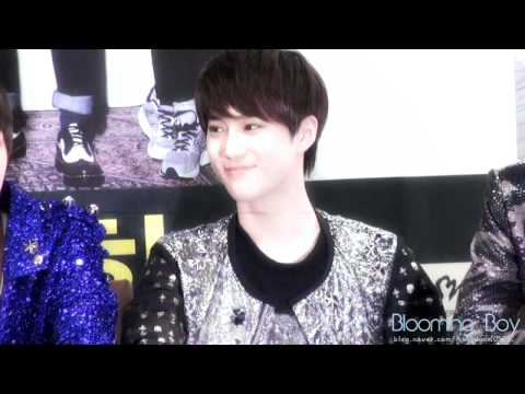 [FANCAM] 120421 - fansigning SUHO FOCUSED