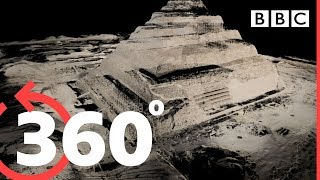 Download Song 360° Travel inside the Great Pyramid of Giza - BBC Free StafaMp3
