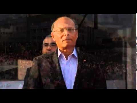 Moncef Marzouki entame son meeting par l'hymne national à Sfax