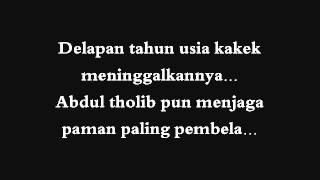 Solawat kisah rasul_versi band (lirik)