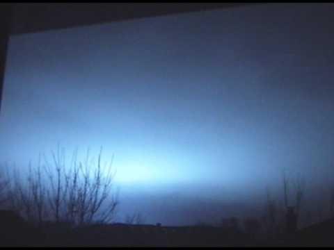 Weird Blue Lightning